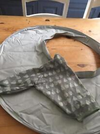 Tidy Tots weaning bib and tray £15