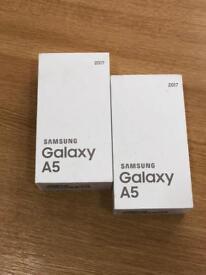 Samsung galaxy A5 2017 brandnew sealed 2 year warranty Work any sim unlock