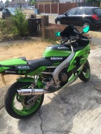 Kawasaki zx6r. Owned for the last 8 years and hardly used. In good condition with 11 month MOT.