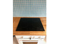 Candy Induction Hob in Black Glass