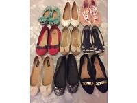 Size 6 ladies shoes x 9