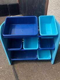 Children's Plastic Storage Unit