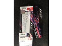 Silverstone British Grand Prix F1 tickets Club corner