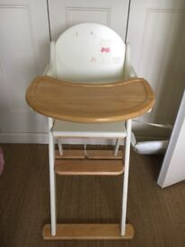 Lovely wooden Disney Winnie The Pooh high chair