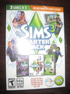 The Sims 3 Starter Pack (PC / Computer / Laptop / Macbook Game DVD). Create and Customize the Sim. Phone : 9057815781
