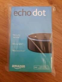 Brand new sealed Amazon echo dot with alexa 2nd gen