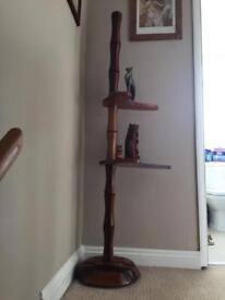 Antique Chinese floor lamp stand