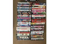 Job lot (64) DVD's collection
