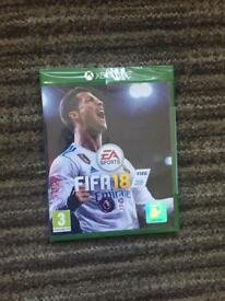 Fifa 18 XBOX ONE - (Sealed/Mint condition)