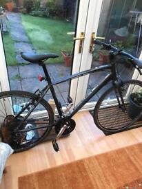 Saracen urban ecs road bike 20 in alloy frame vgc