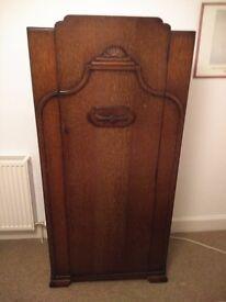 oak 1940 retro upcycle wardrobe