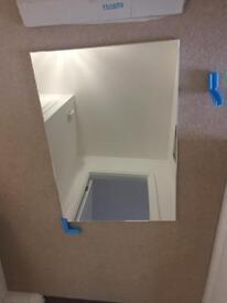 Roka bathroom mirror - brand new in box