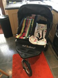 Double buggy, Out n About Nipper 360
