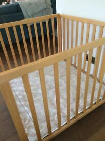 Babydan wooden playpen