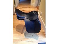 Leather general purpose pony saddle 16.5""