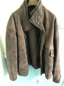 XXL genuine leather jacket 'Zahras'