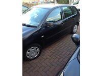 VW polo 2002 1.4 black