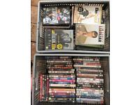 Approx 109 DVDs - Various Titles