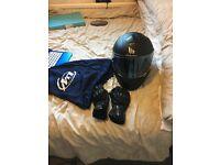Job Lot Women's Motorbike Clothing: Helmet, Jacket, Gloves