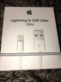 ORIGINAL APPLE 2M LIGHTNING CABLE