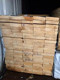 New timber joists 8x2x16 ft kd