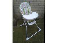 Mothercare children's toddler's highchair excellent central London bargain
