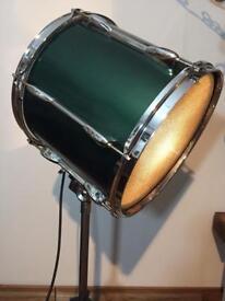 Floorstanding Drum Light