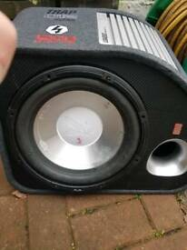 Car subwoofer different size and price
