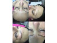 Microblading Eyebrows.