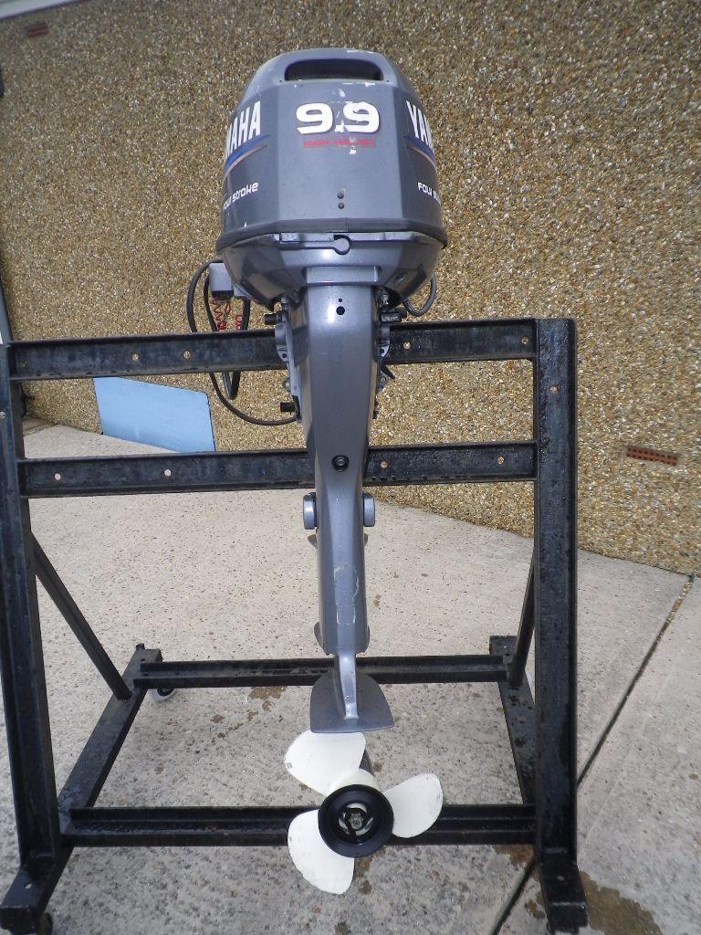 Long Shaft Outboard Motors : Yamaha four stroke extra long shaft high thrust