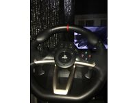 Hori Apex Steering Wheel with Pedals + Stand