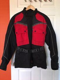 Water proof motorbike jacket