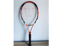 Quality Wilson tennis racket, quick sale at only £25,I've got some others too for sale