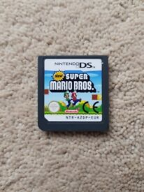 """New Super Mario"" Nintendo DS Game cartridge"