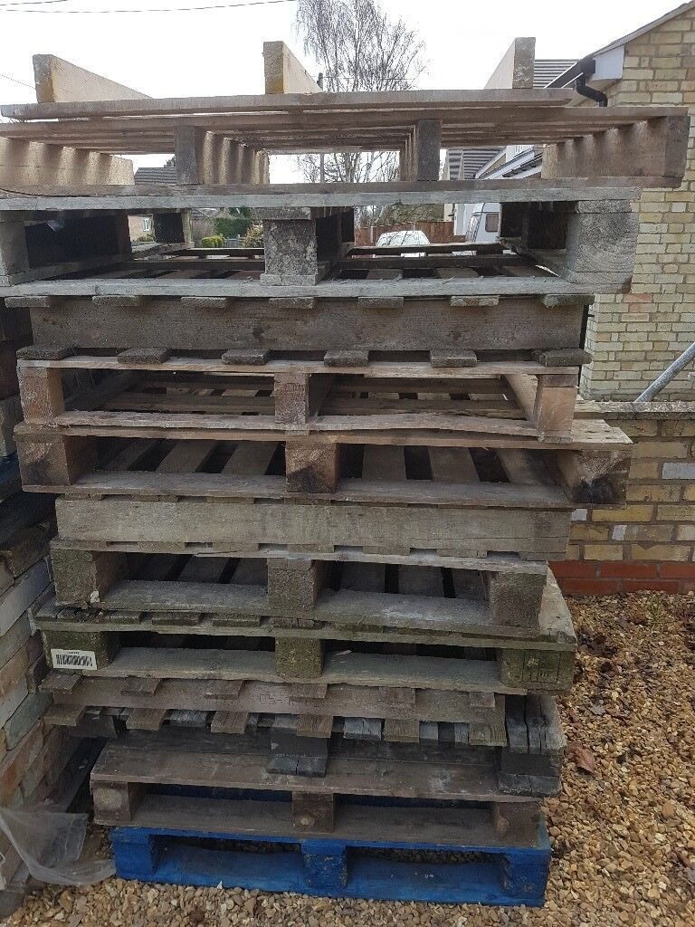 Used Wooden Pallets Free Timber   in Cambridge ...
