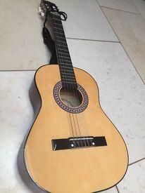 Guitar. Three quarter size