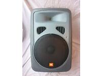 JBL EON POWERED SPEAKERS. EON15P-1. BI-AMPLIFIERS. GREAT FOR BAND PA OR DJ SETUP.
