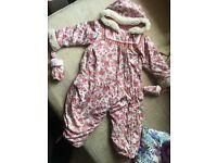 Kenzo Baby Girl 6m snowsuit/ coat / pramsuit
