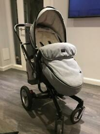 Limited edition silver cross surf 2 travel system