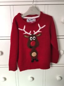 Boys Christmas jumper age 4-5