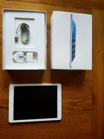 silver/grey ipad air 16gb WiFi