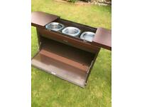 Philips hostess trolley excellent condition (can deliver)