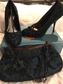 Karen Millen Shoes Size 5 and Matching Handbag