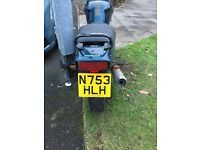 Honda NTV 650. RUNNING PROJECT. Mot 01/17. V-twin, shaft drive. ideal for trike conversion