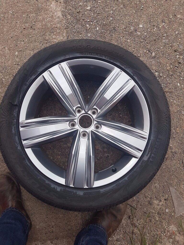 "Volkswagen VW Tiguan Genuine Alloy 19"" Victoria Falls Alloy"