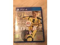 Fifa 17 for the PlayStation 4