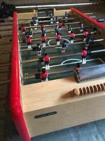 Harvard Large Wooden Table Football Table with Legs Good condition Free to pick up