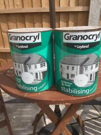 Stabilising solution paint