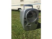 Travel fridge with CD player. Ideal for caravan