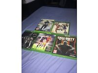 Xbox One console & 5 games
